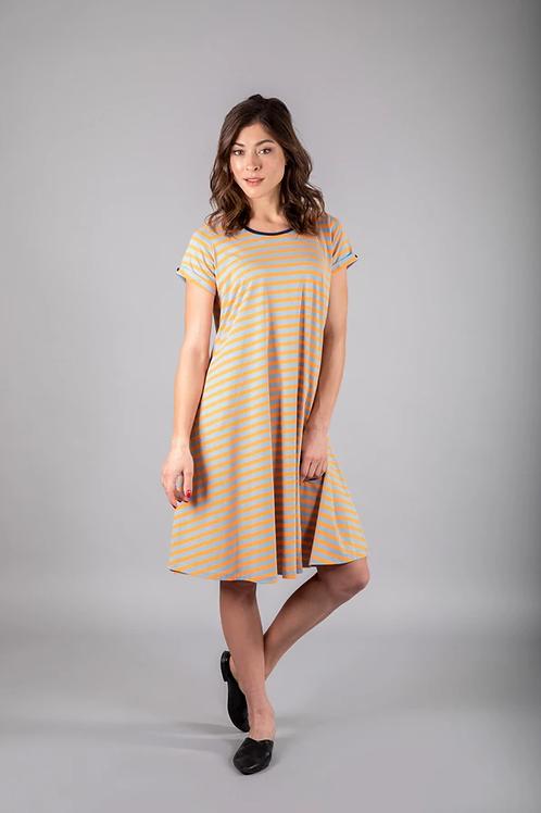 שמלת כפתור 38