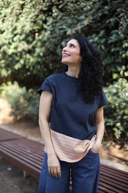 חולצת ענבר 38