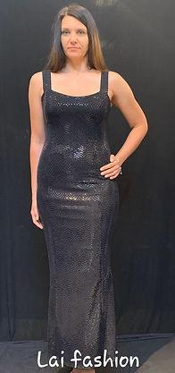 שמלה דגם 10324306 מחיר 300 שקלתבעים שחור