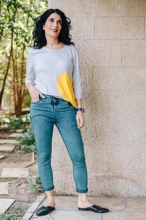 מכנסי דלהי ג'ינס 38