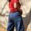 Thumbnail: מכנסי מנוחה ג'ינס