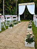 breeze weddings australia, wedding ceremony decoration, beach weddings, diy hire