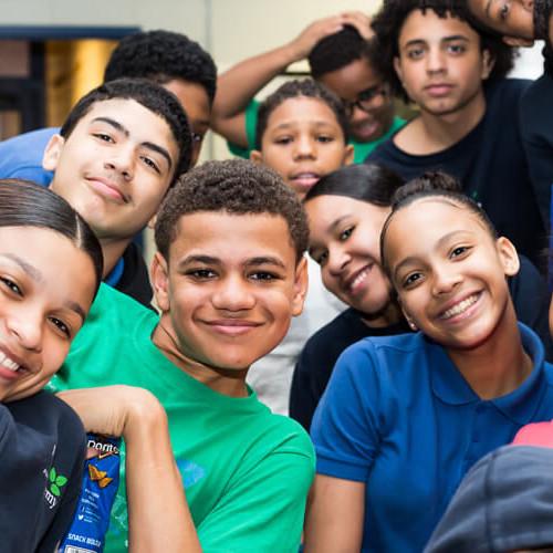 Matt Visits Inwood Academy Charter School
