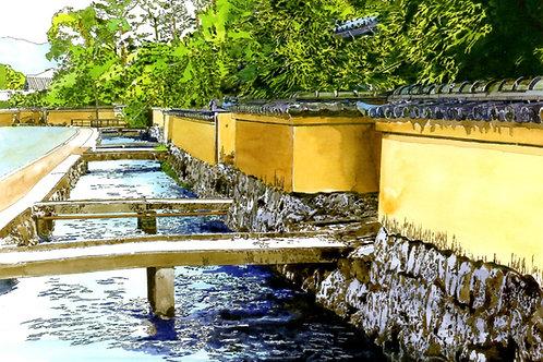 風情漂う社家町 清らかな水と町