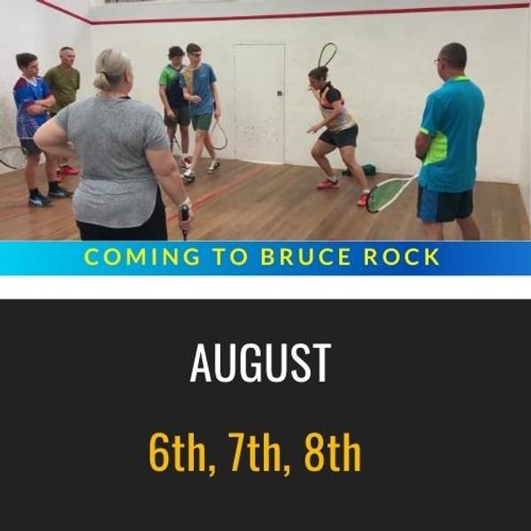 Bruce Rock Squash Clinics