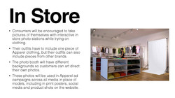 In Store Experience