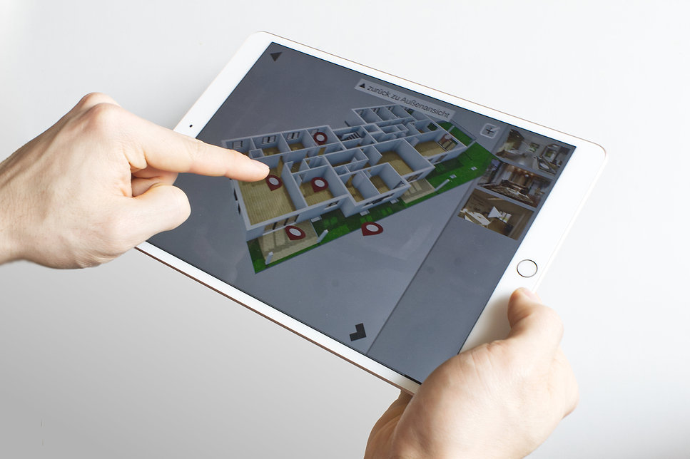 Architektur-App für Verkauf und Präsentation