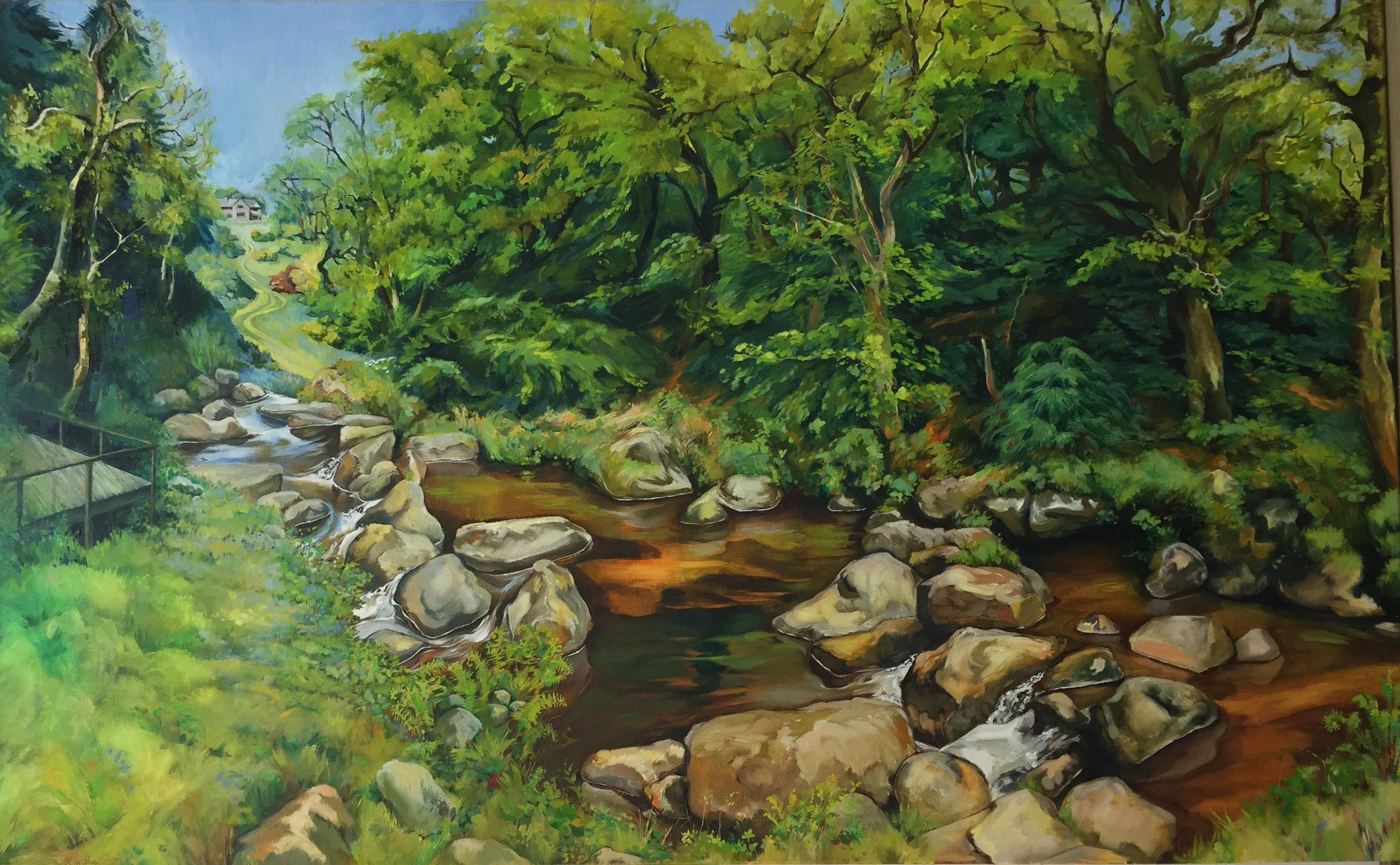 Teignworthy River