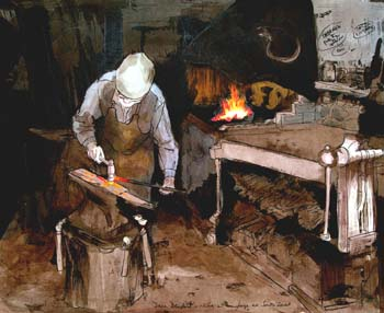 Dave Denford Blacksmith
