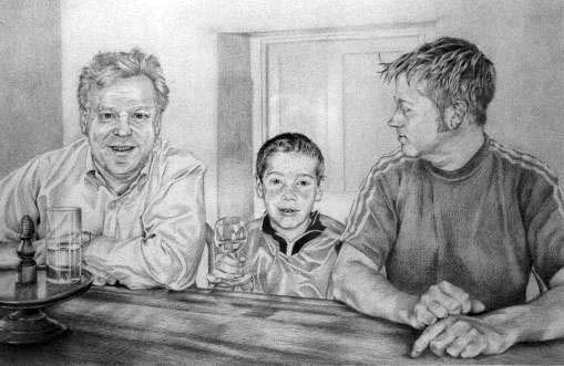 Colin, Finn and Fergus MacCabe