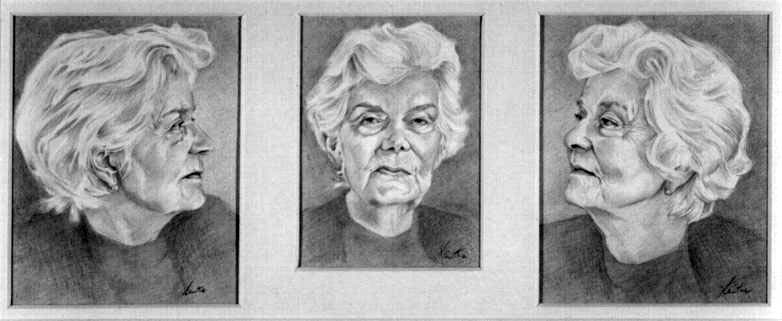 Mary Wesley Triptych