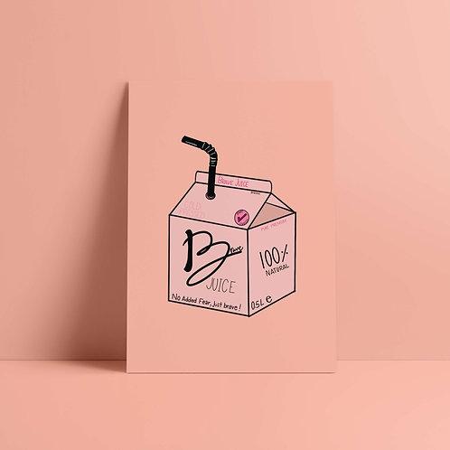 Postkarte Bold Juice