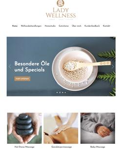Lady Wellness Webdesign
