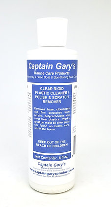 Clear Plastic Cleaner & Scratch Remover 8 oz.