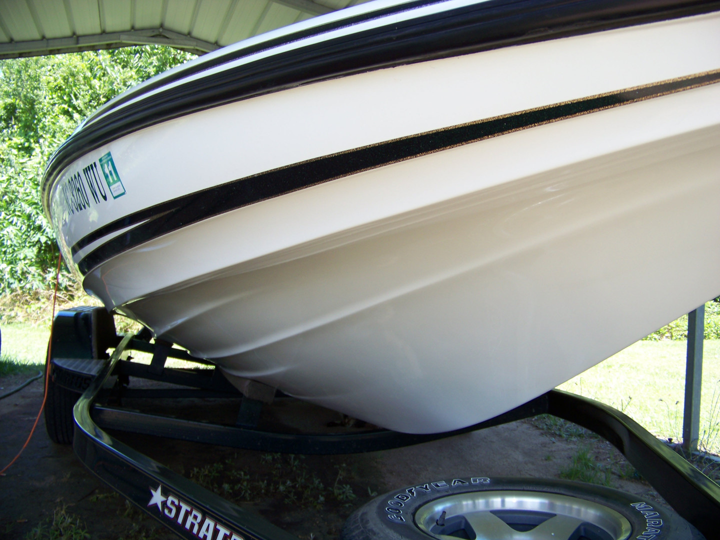 Bass Boat Instant Shine