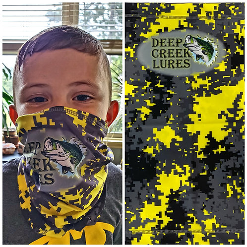Digital Camo Logo Neck Gaiter