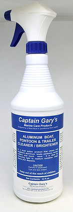 Aluminum Boat, Pontoon & Trailer Cleaner/Brightener 32 oz.