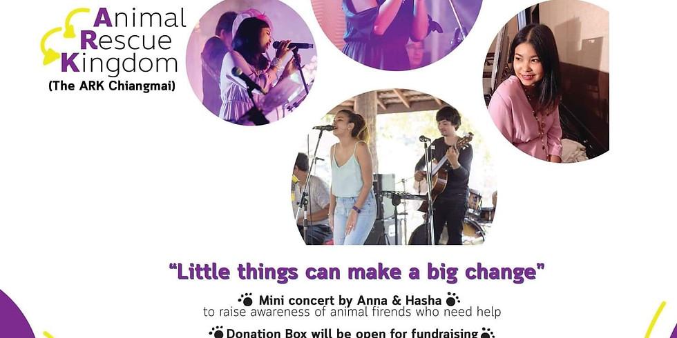 Charity gig for Animal Rescue Kingdom