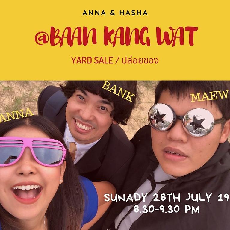 Anna & Hasha @Baan Kang Wat