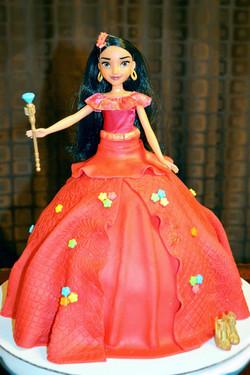Elena Doll Cake