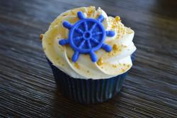 Navy Theme Cupcake
