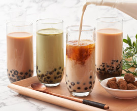 Earl Grey - Matcha - Classic Bubbble Tea