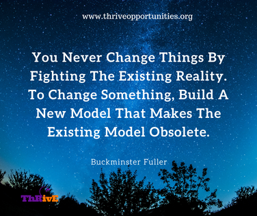 You Never Change Things By Fighting The Existing Reality. To Change Something, Build A New Model That Makes The Existing Model Obsolete.