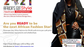 Africa's Got Style online fashion design competition (Cash Prizes: $1000 1st Winner)