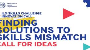 ILO Skills Challenge Innovation: Finding Solutions to Skills Mismatch ($50,000 Grant)