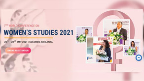 7thWorld Conference on Women's Studies(WCWS 2021)