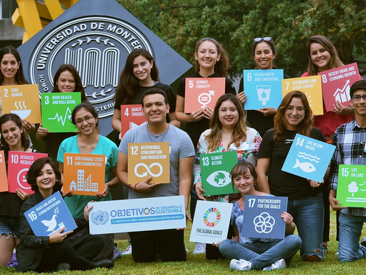 The United Nations Academic Impact and MCN Millennium Fellowship Undergraduate class of 2021.