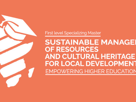 Specializing Master in Sustainable Management of Resources and Cultural Heritage for Local Developme