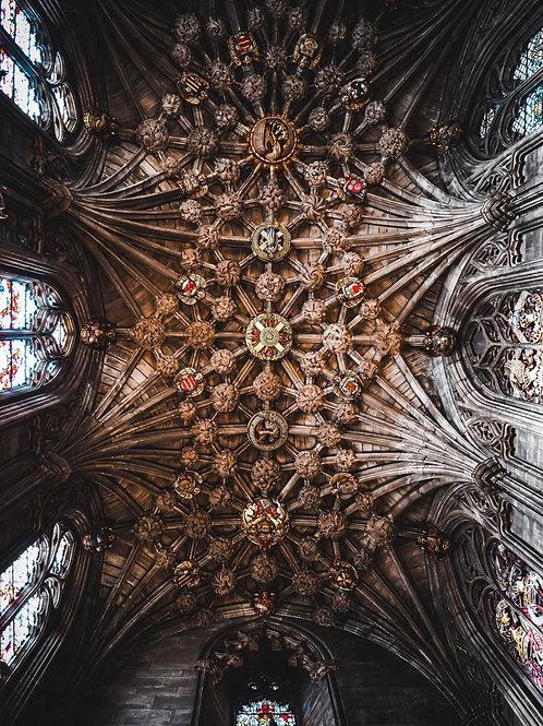 Edinburgh Thistle Chapel ceiling