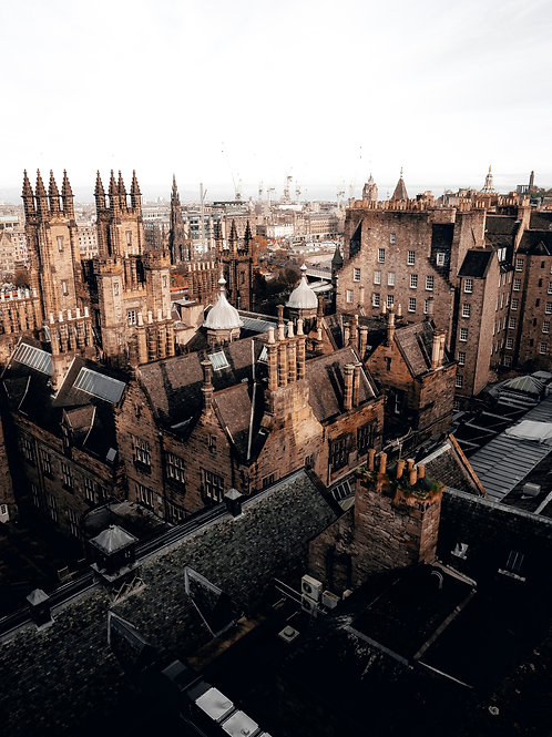 Edinburgh Old Town from Camera Obscura