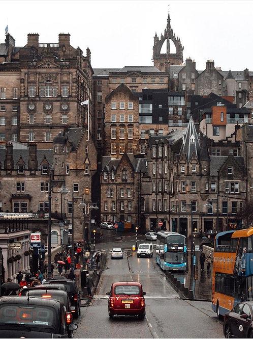 Edinburgh Old Town Taxi