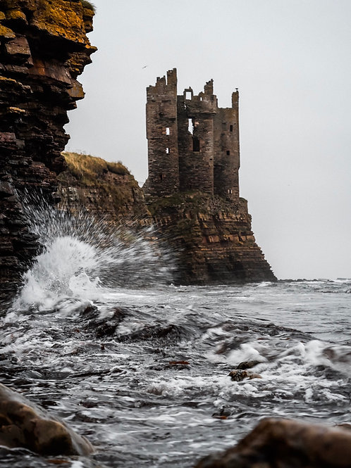 Castles of Scotland - Keiss Castle
