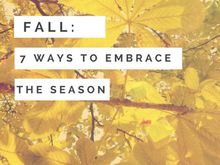 Falling in love with Fall? 7 new ways to embrace the season