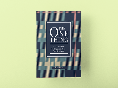 The One Thing Journal (Plaid style)
