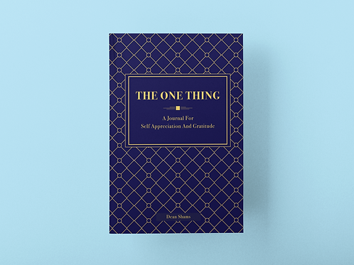 The One Thing Journal (Gatsby style)