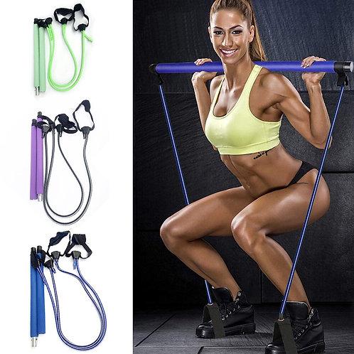 Adjustable Pilates Stick Yoga Sports Body Building Squat Training Bar