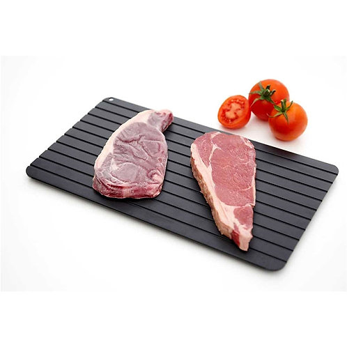 Quick Thaw Chopping Board Steak Meat Seafood Thawing Plate Defrosting Plate