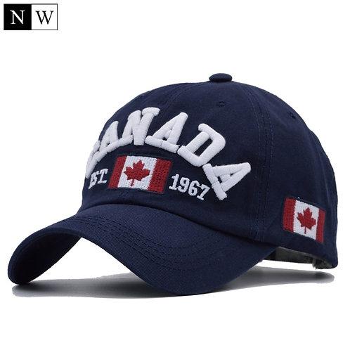 ] Cotton Gorras Canada Baseball Cap Flag of Canada Hat Snapback