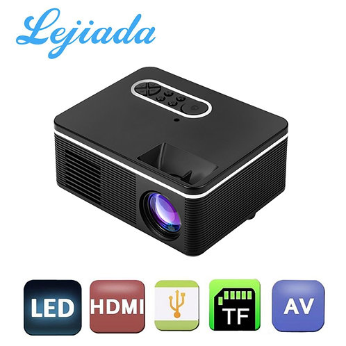 LEJIADA S361 Portable Mini LED ProjectorProjector Home a Player Built-In Speaker
