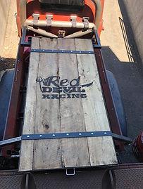Maks Machining & Fabrication Custom Sled Deck