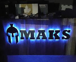 Maks Machining & Fabrication -  Custom Front Desk