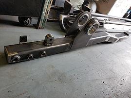 Maks Machining & Fabrication Steel Arms