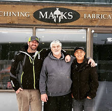 Owners of Maks Machining & Fabrication