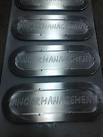 Billet CNC machined filter covers