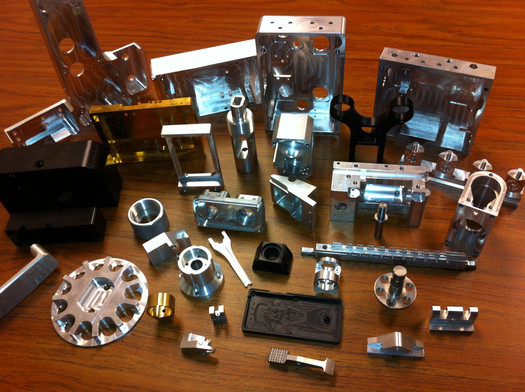 Variety of Machined Parts