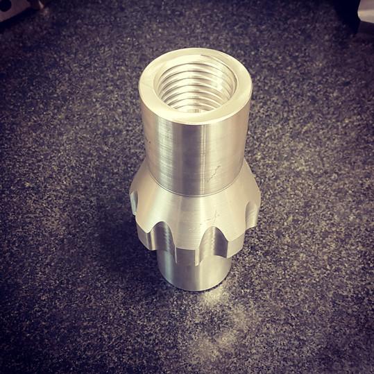 CNC machined piece